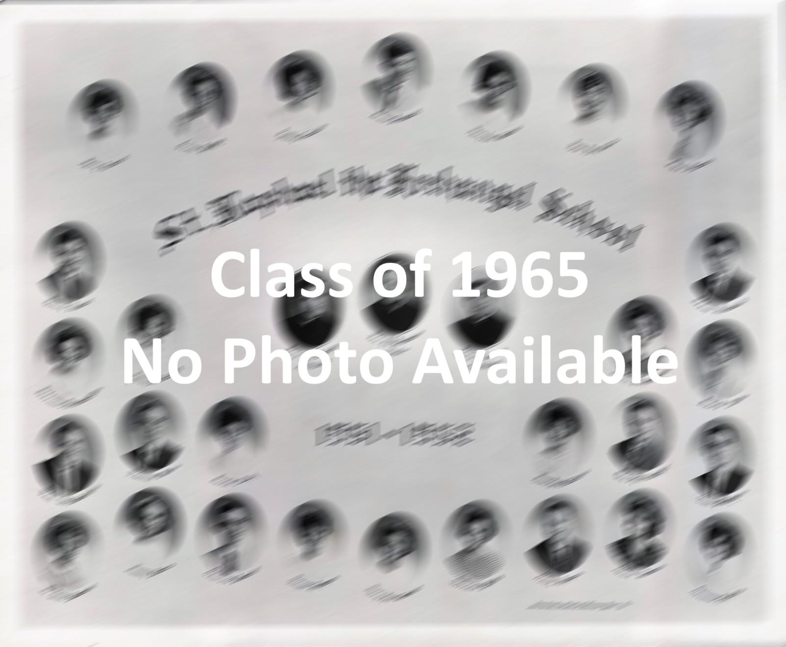 Graduation Class of 1965