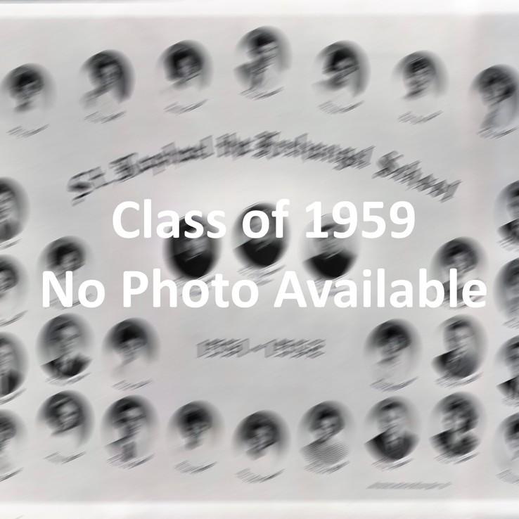 Graduation Class of 1959