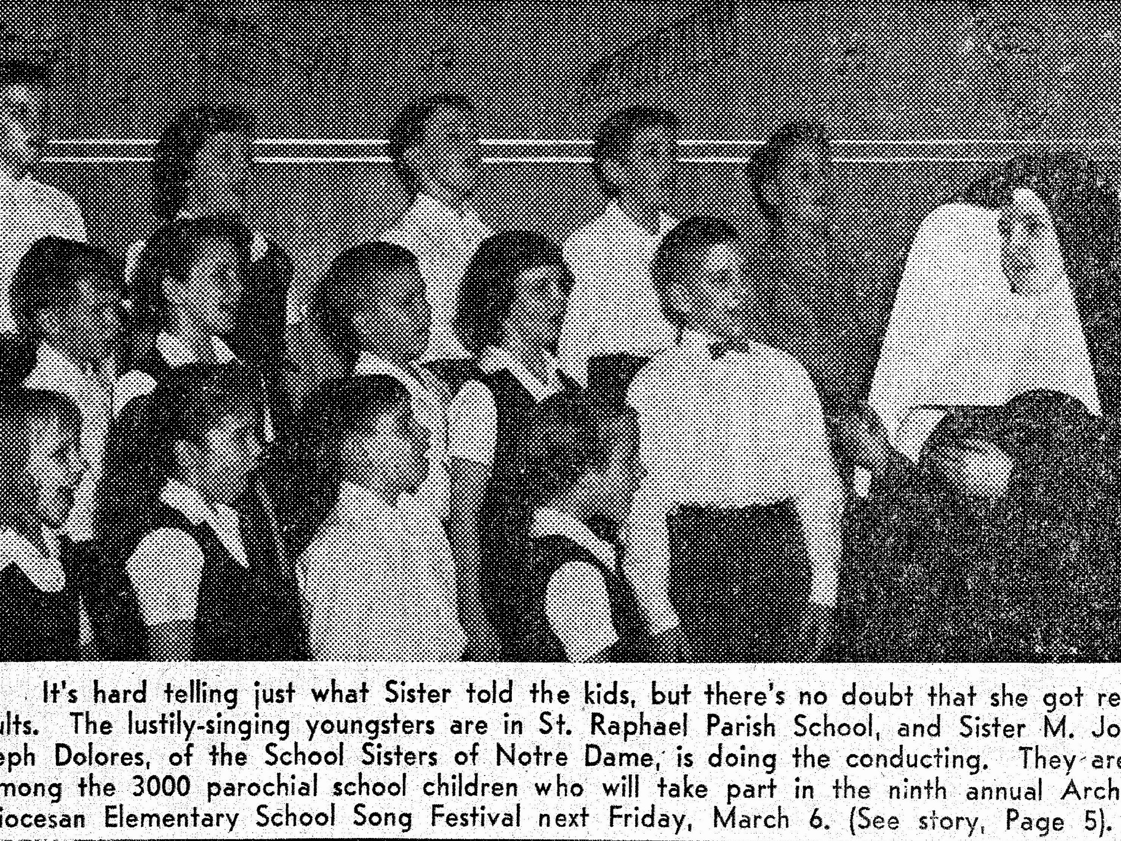 Choir Practice 1956