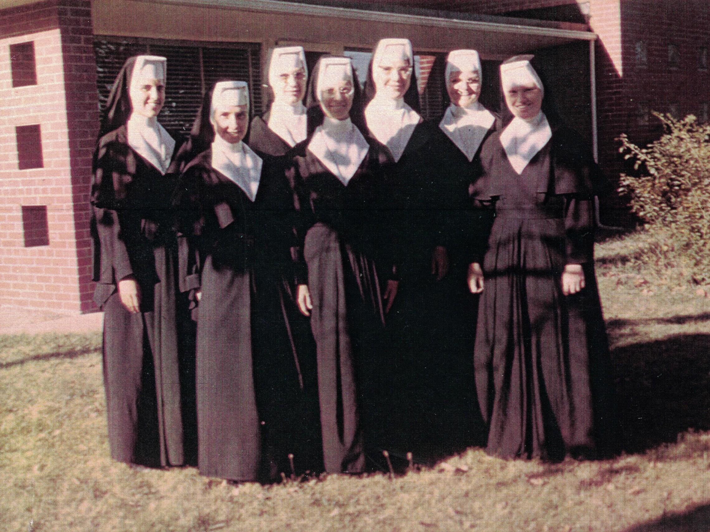 St Raphael Nuns 1966 1967